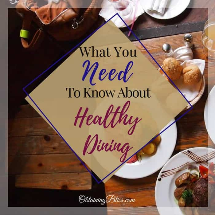 Don't let that vacation or dining out experience ruin your healthy lifestyle. Read what you need to know about healthy dining and you'll have no problem sticking to your healthy eating plans.