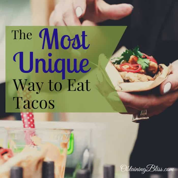 The Most Unique Way to Eat Tacos