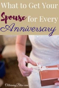 Trying to find the perfect gift for your spouse every year? Use this guide to get great ideas for what you can surprise your spouse with this year. #marriage #relationships #gifts #anniversary #presents #giftguide