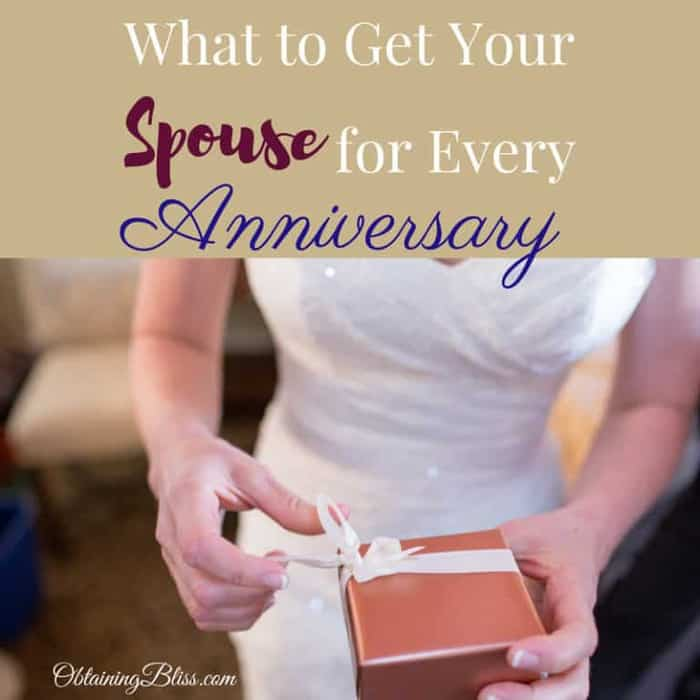 What to Get Your Spouse for Every Anniversary