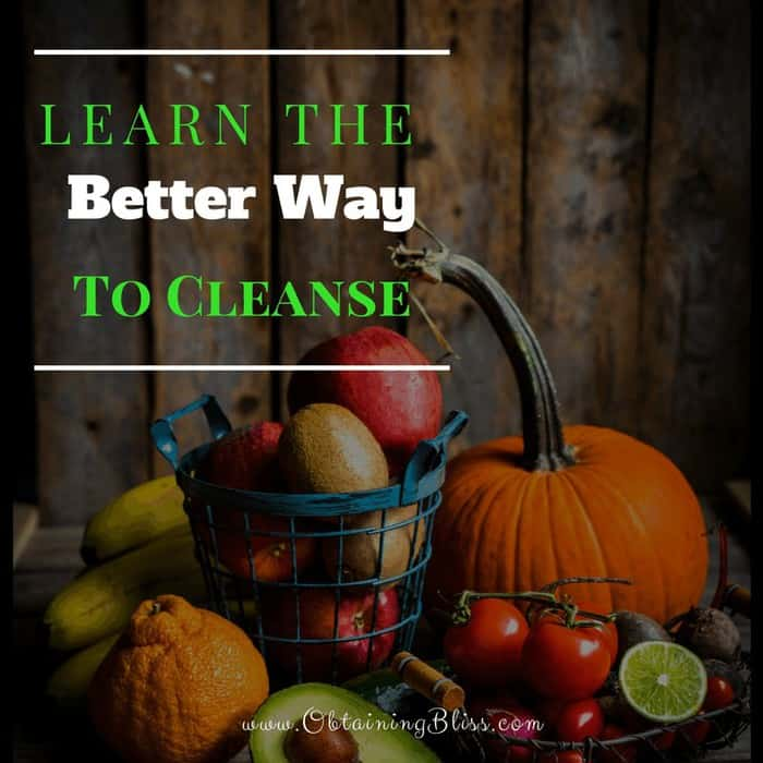 Learn the Better Way to Cleanse