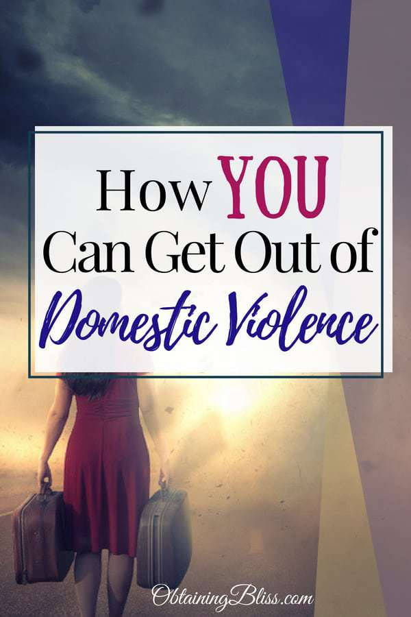 Getting out of a domestic violence situation can be a scary thing. You need a plan. Read how you can get out safely and sanely. #domesticviolence #abuse #relationships #marriage #troubledmarriage #personaldevelopment #selfcare #motivation