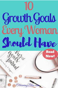 Personal Growth Goals for Women