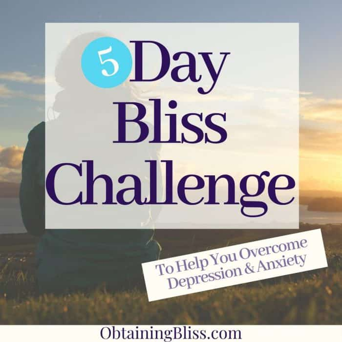 The 5 Day Bliss Challenge