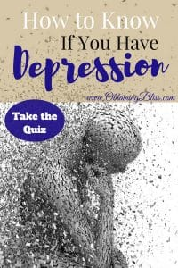 "It can be difficult at times to know if you have depression. You may have symptoms and you've been feeling ""off"" for some time now. Check out this quiz to help you figure out if you may have depression. #depression #mentalhealth #mentalhealthawareness #personalgrowth"