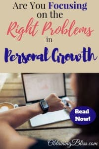 We all face problems in our lives. On your path to personal growth, you need to make sure you're focusing on the RIGHT problems. Read now to know if you're focusing on the right problems. #personalgrowth #personaldevelopment #selfdevelopment #selfgrowth #problemsolver