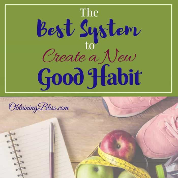 If you want to create a new good habit as well as abolish bad ones you need a plan. This is the best system to create a new good habit.