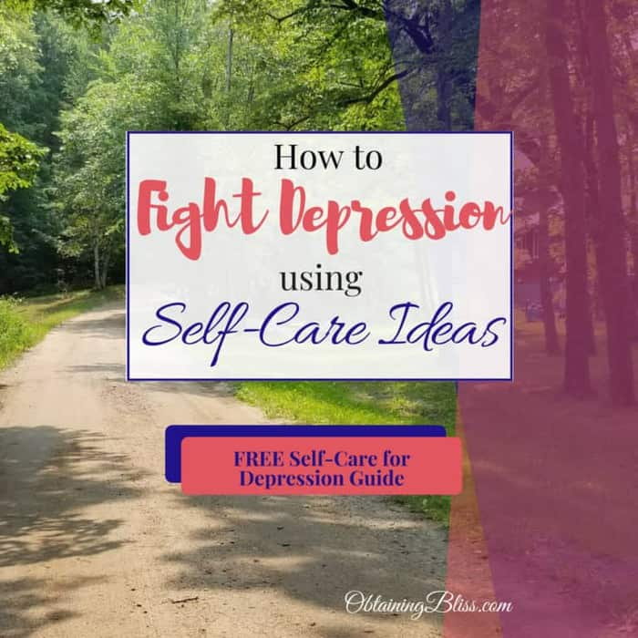 How to Fight Depression Using Self Care Ideas