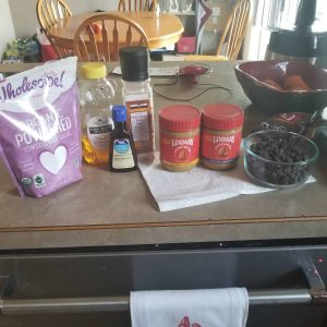 almond butter cups ingredients