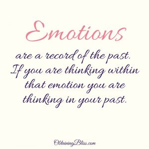 Learn how we get stuck in the past by our emotions and learn how to overcome anxiety.