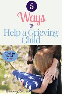 Losing someone is extremely difficult, especially for a child. Read how you can help a grieving child go through one of the hardest parts of life.