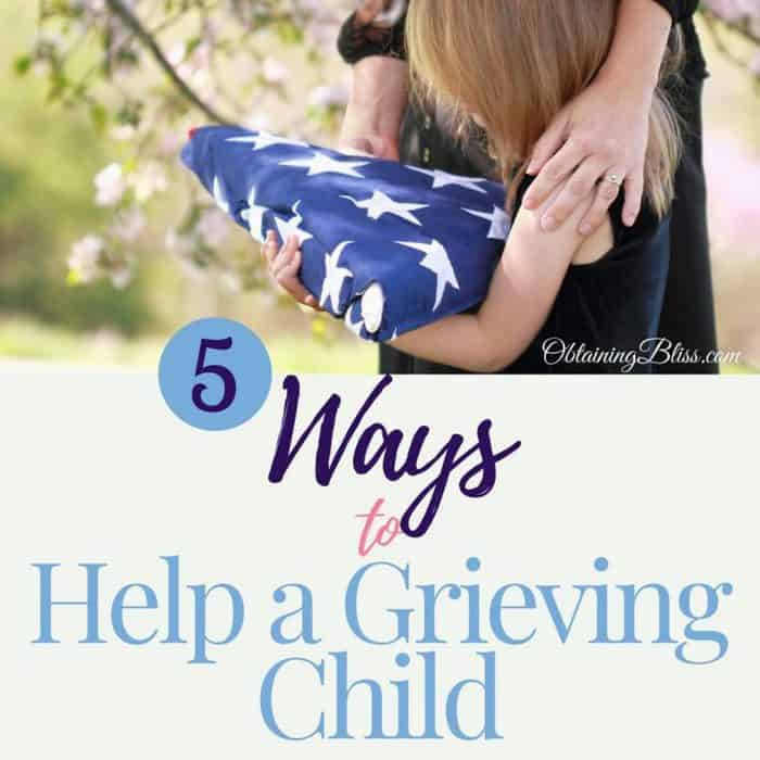5 Ways to Help a Grieving Child