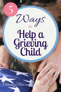 Help a grieving child