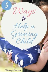helping a child grieve