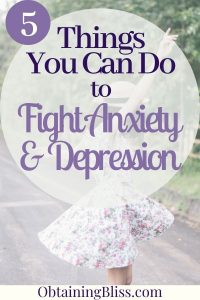 Mental Health Treatments for Anxiety and Depression